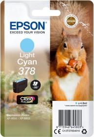 Epson Tinte 378 cyan hell (C13T37854010)