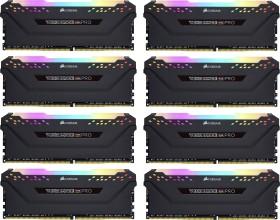 Corsair Vengeance RGB PRO black DIMM kit 128GB, DDR4-3200, CL16-18-18-36 (CMW128GX4M8C3200C16)