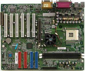 ENMIC 4BCX+, i845D, RAID, onboard P80P (DDR)