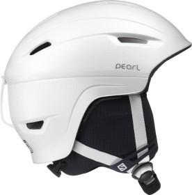 Salomon Pearl 4D² Helm weiß/schwarz (Damen)