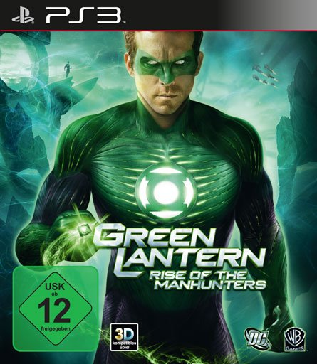 Green Lantern Deutsch