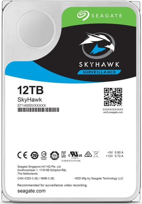 Seagate SkyHawk 12TB, SATA 6Gb/s (ST12000VX0008)