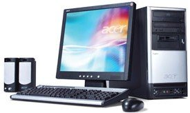 Acer Aspire T120, Athlon XP 3000+ (various types)