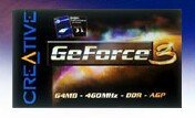 Creative 3D Blaster GeForce 3, 64MB AGP, retail