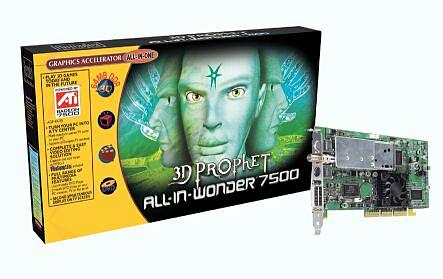 Guillemot / Hercules 3D Prophet All-In-Wonder Radeon 7500, 64MB DDR, DVI, TV-out, tuner TV, AGP, retail (4780187)
