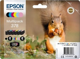Epson ink 378 multipack (C13T37884010)