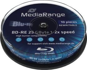 MediaRange BD-RE 25GB 2x, 10er Spindel (MR501)