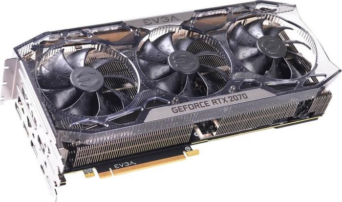 EVGA GeForce RTX 2070 FTW3 Ultra Gaming, 8GB GDDR6, HDMI, 3x DP, USB-C (08G-P4-2277-KR)