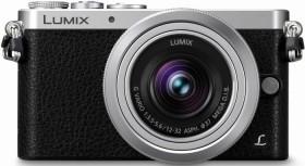 Panasonic Lumix DMC-GM1K silber mit Objektiv Lumix G Vario 12-32mm 3.5-5.6 ASPH OIS