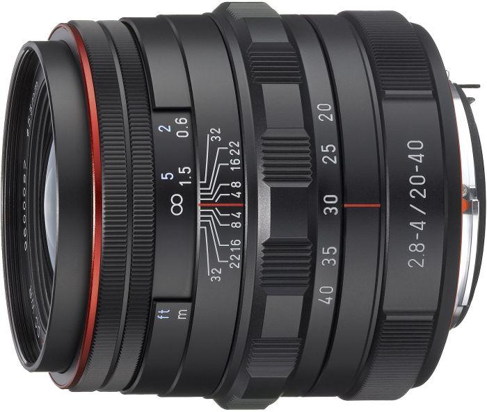 Pentax HD DA 20-40mm 2.8-4.0 ED DC WR Limited black (23000)