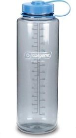 Nalgene Wide Mouth Trinkflasche 1.5l gray/blue (2178-0048)