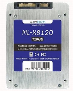 "Winkom Powerdrive ML-X8 120GB, 2.5"", SATA 6Gb/s (ML-X8120)"