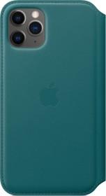 Apple Leder Folio Case für iPhone 11 Pro pfauenblau (MY1M2ZM/A)