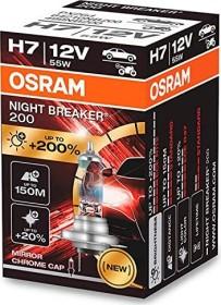 Osram Night breaker 200 H7 55W, 1-pack folding box (64210NB200)