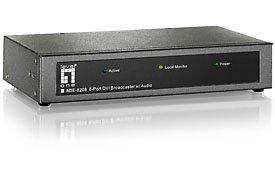 Level One ADE-8208, 8-port Audio-/Videosender (digital)