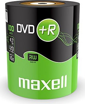 Maxell DVD+R 4.7GB, 100er-Pack -- via Amazon Partnerprogramm