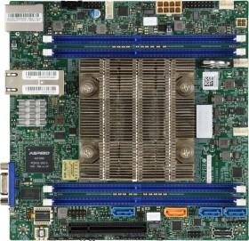 Supermicro MBD-X11SDV-4C-TLN2F-O<br>Supermicro P&#322;yta serwerowa MBD-X11SDV-4C-TLN2F-O BOX<br>(Ausbau max 112TB)