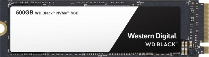 Western Digital WD Black NVMe SSD 2018 500GB, M.2 (WDS500G2X0C)