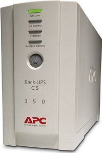 APC Back-UPS CS 350, USB/serial (120V) (BK350E)