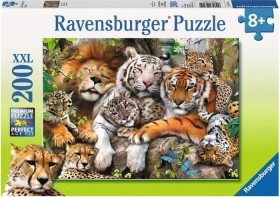 Ravensburger Puzzle Schmusende Raubkatzen (12721)