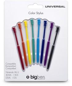 BigBen Stylus Set Rainbow (WiiU)