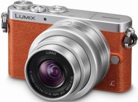 Panasonic Lumix DMC-GM1K orange mit Objektiv Lumix G Vario 12-32mm 3.5-5.6 ASPH OIS