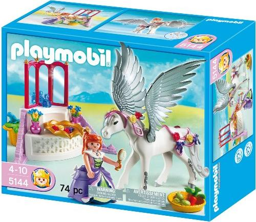playmobil - Princess - Pegasus mit Schmück-Ecke (5144) -- via Amazon Partnerprogramm
