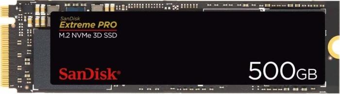SanDisk Extreme Pro M.2 NVMe 3D SSD 500GB, M.2 (SDSSDXPM2-500G-G25)