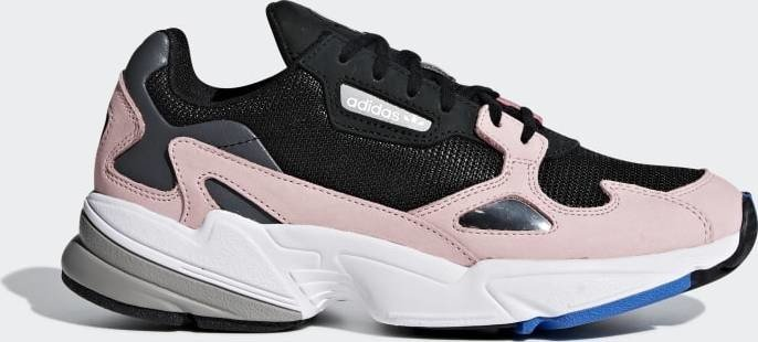 adidas Falcon core black/light pink (ladies) (B28126)