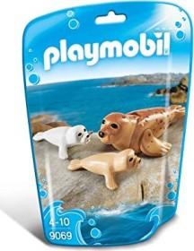 playmobil Family Fun - Robbe mit Babys (9069)