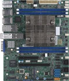 Supermicro MBD-X11SDV-8C-TP8F-O<br>Supermicro MBD-X11SDV-8C-TP8F-O System on Chip Flex-ATX Server-/Workstation-Motherboard - Server-/Workstation-Motherboards (Intel, Intel Xeon, 80 W, DDR4-SDRAM, 2133,2400,2666 MHz, 768 GB)