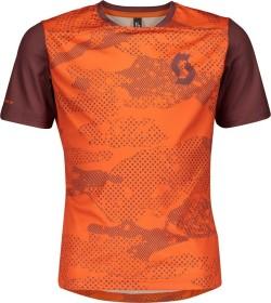 Scott Trail 10 Trikot kurzarm orange pumpkin/maroon red (Junior) (275363-6437)