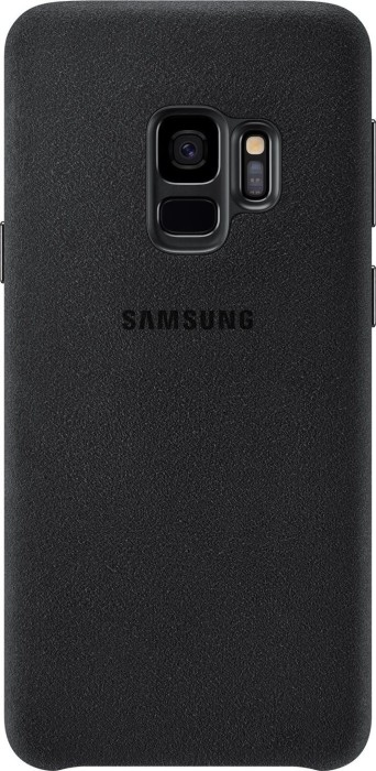 size 40 ea9ff 43f7e Samsung EF-XG960AB Alcantara Cover for Galaxy S9 black