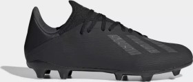 adidas X 19.3 FG core black/utility black/silver met. (Herren) (F35381)