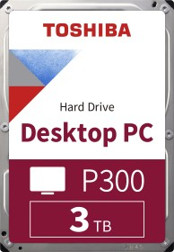 Toshiba P300 Desktop PC 3TB, SATA 6Gb/s, bulk (HDWD130UZSVA)