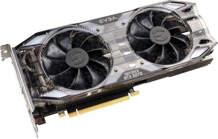 EVGA GeForce RTX 2070 XC Gaming, 8GB GDDR6, HDMI, 3x DP, USB-C (08G-P4-2172-KR)