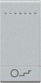 Bticino LivingLight Wippe Treppenhaus 1-modulig, weiß (N4915BN)