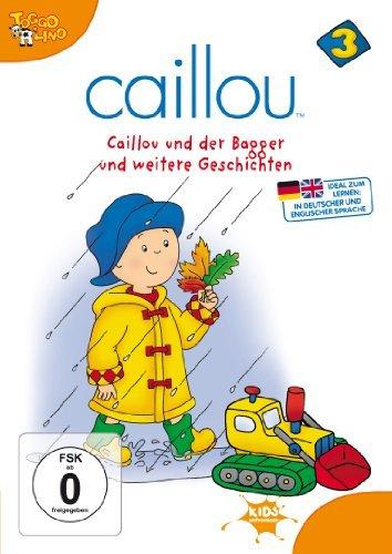Caillou Vol. 3: Der Bagger und weitere Geschichten -- via Amazon Partnerprogramm