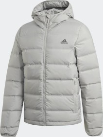 adidas Helionic Hooded Down Jacke metal grey (Herren) (GM5351)