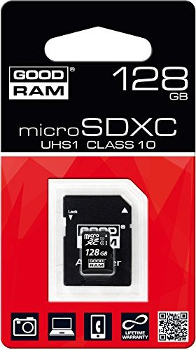 Goodram M1AA microSDXC 128GB Kit, UHS-I, Class 10 (M1AA-1280R11) -- via Amazon Partnerprogramm