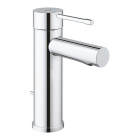 """Grohe Essence one-hand-bathroom sink tap 1/2"""" S-Size SilkMove ES with drain remote chrome (23379001)"""
