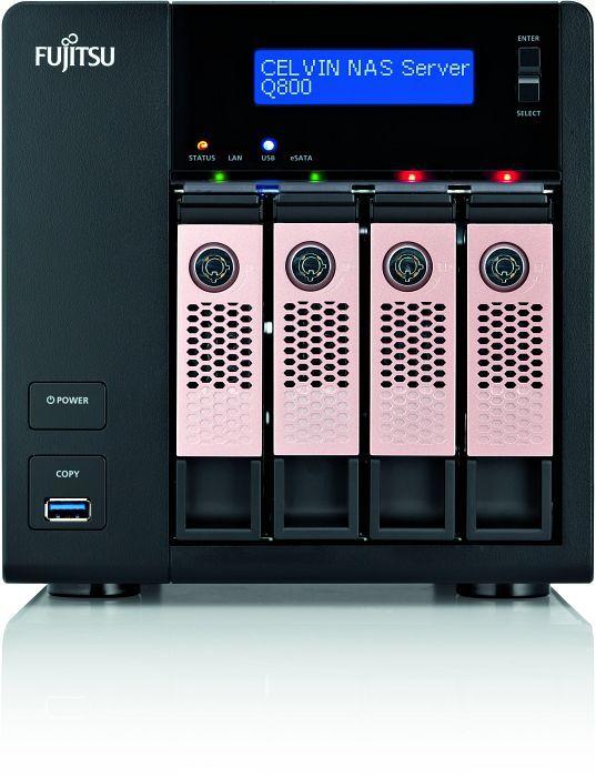 Fujitsu Celvin NAS Server Q800 2TB, 2x Gb LAN (S26341-F103-L820)