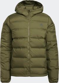 adidas Helionic Hooded Down Jacke focus olive (Herren) (GU3954)