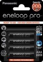 Panasonic eneloop pro Micro AAA NiMH 900mAh, 4-pack (BK-4HCCE/4BE)
