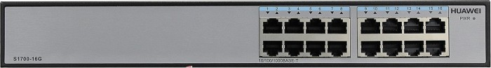 Huawei S1700 Desktop Gigabit Switch, 16x RJ-45 (S1700-16G)