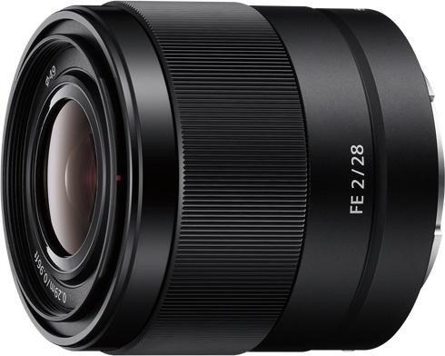 Sony FE 28mm 2.0 schwarz (SEL28F20)