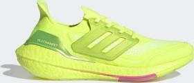 adidas Ultra Boost 21 solar yellow/creaming pink (Herren) (FY0848)