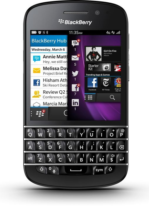BlackBerry Q10 schwarz