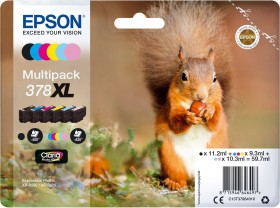 Epson ink 378XL multipack (C13T37984010)