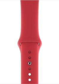 Apple Sportarmband S/M und M/L für Apple Watch 44mm rot (MU9N2ZM/A)